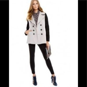 Rebecca Minkoff Genuine calf hair sleeves jacket